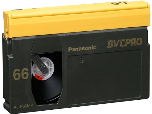 Panasonic AJ-P66M DVCPRO 66-Minute Video Cassette