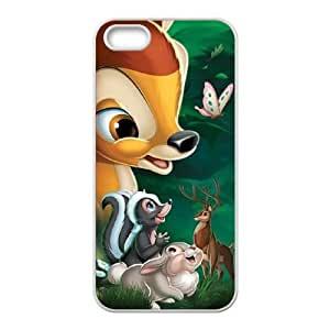 Bambi iPhone 4 4s Cell Phone Case White TPU Phone Case SV_296618