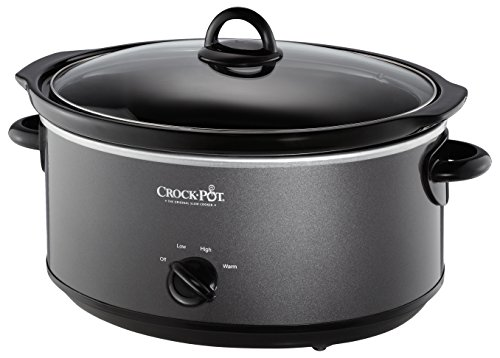 Crockpot SCV700KC crock pot 7 quarts Charcoal