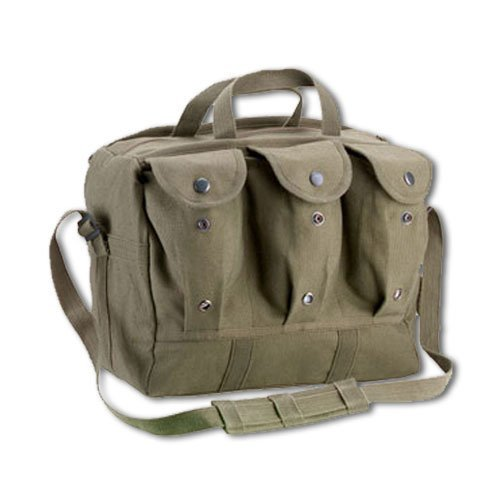 Rothco Canvas Medical Equipment Bag/Mag Bag, Olive Drab Size by Rothco