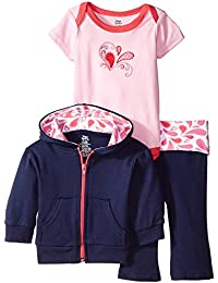Infant and Toddler 3 Piece Jacket, Top and Pant Set