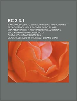 EC 2.3.1: 5-amminolevulinato sintasi, Proteina trasportante ...