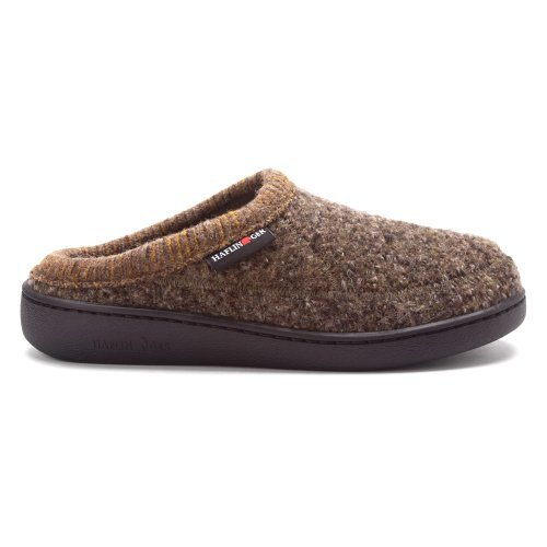 Haflinger Wool ATC Clog Slipper Shoes (Khaki, EU 40/W's 9)