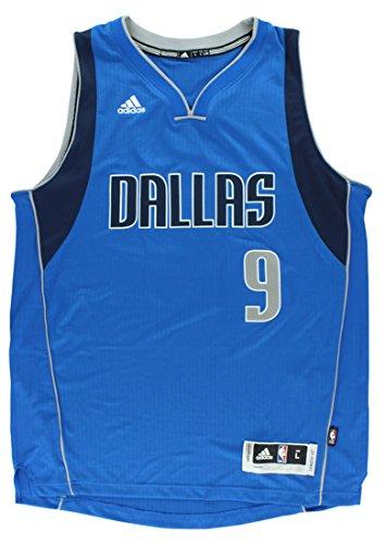 (Adidas Mens Dallas Mavericks NBA Rajon Rondo Swingman Jersey Royal Blue M)