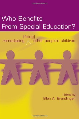 Who Benefits From Special Education?: Remediating...