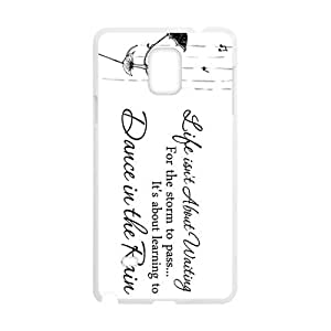 Elegant Dance In The Rain Brand New And High Quality Hard Case Cover Protector For Samsung Galaxy Note4