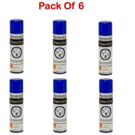 Rentokil aerosols insectrol insect killer 250ml PACK OF 6 PSI36
