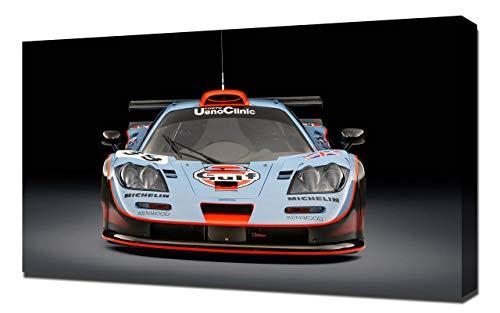 Lilarama USA 1997-McLaren-F1-GTR-Longtail-V8 Canvas Art Print - Wall Art - Canvas Wrap