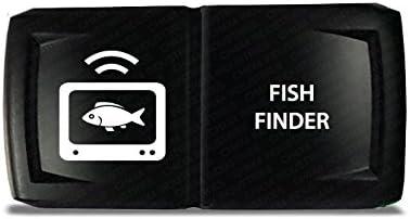 CH4X4 Marine Rocker Switch Fish Finder Symbol 3