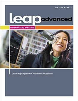 Book LEAP Advanced Listening and Speaking Student Book
