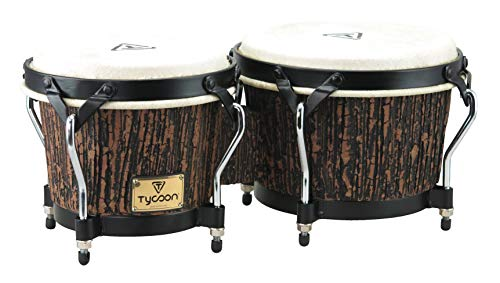 (Tycoon Percussion SUPREMO SELECT BONGO LAVA WOOD FINISH 7 & 8 1/2)