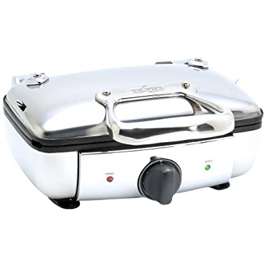 All-Clad 99011GT 2-Square Belgian Waffle Maker / Kitchen Electrics, Silver