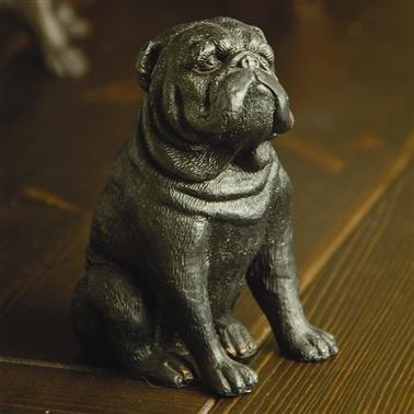 Spi Home Stern Bulldog Sculpture