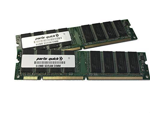 1GB Kit 2 x 512MB Memory for Yamaha Motif ES6 ES7 ES8 Sampler RAM (Parts-Quick ()