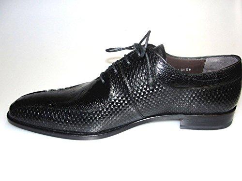 Mezlan Men's Calas Genuine Ostrich and Leather Dress Shoe (13906), 10 M ()