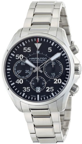 Hamilton Khaki Aviation Pilot Auto Chrono Men's Automatic Watch H64666135