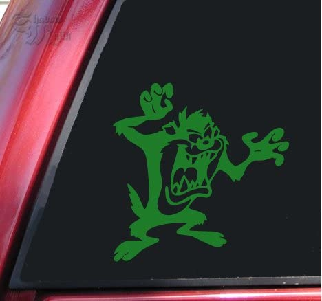 """Taz Devil Here Comes Trouble Graphic Die Cut decal sticker Car Truck Boat 7/"""""""