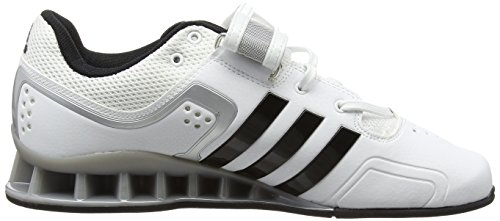 Hombre Black Core Zapatillas adidas Adipower Deportivas White Interior Blanco para azvf87Wc