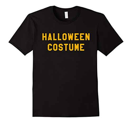 Plus Size Last Minute Halloween Costumes (Mens Halloween Costume T Shirt Last Minute Halloween Party Tee 2XL Black)
