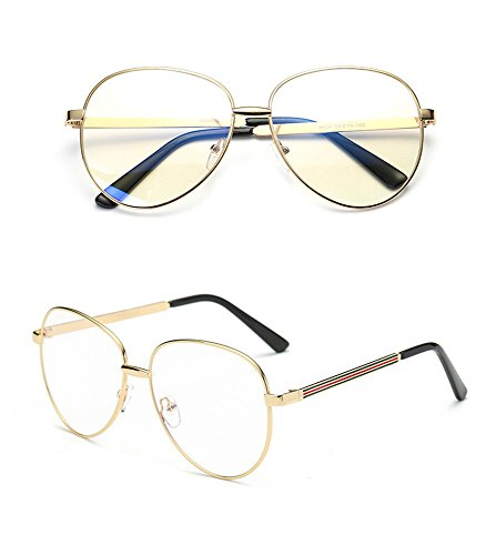 Anti glasses Ordinateur SMX JeuVerres Gold Filtre Fatigue Bleu Grande Transparent lentille Anti Yeux Bleue Miroir Lumière Protection Lunettes pour des Smx oculaire Téléphone Portable rayonnement fqTx5Odwf