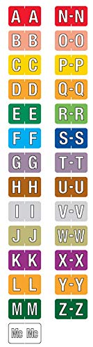 Starter Kit for Alpha File Folder Labels - Barkley Compatible, 1-1/2'' x 1'' by UAL (Image #1)