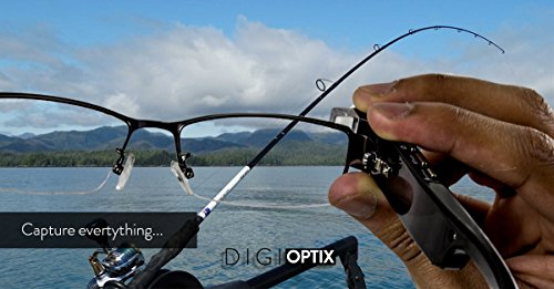 DigiOptix Smart Glasses for Android Smart Devices Bluetooth for headphones Audio Headsets, Best Action Camera, Take Calls, Sap Calls, Record Videos, Gesture Control DigiOptix, 16 GB by DigiOptix (Image #5)