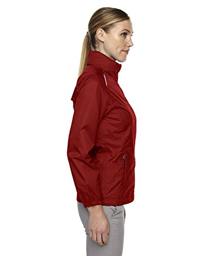 Pour Core Climat Léger Étanches Xxx Femme Veste Ripstop End large Coutures North Rouge qawHIt