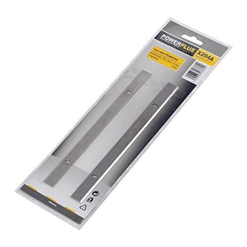 2 Hobelmesser für Hobelmaschine POW X204 - POW X204A