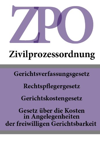 I. Tenth Book of the Code of Civil Procedure - (Zivilprozeßordung; ZPO)