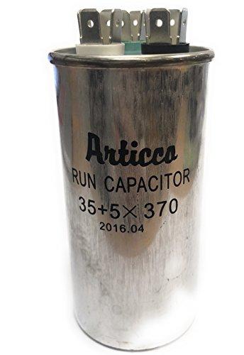 Capacitor Run 35 + 5 uF mfd , 370V AC Motor Capacitor, for HVAC use, 35 + 5 uF