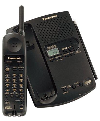 Panasonic KXTC1501 900 MHz Cordless Phone with Digital Answering Device (Black)