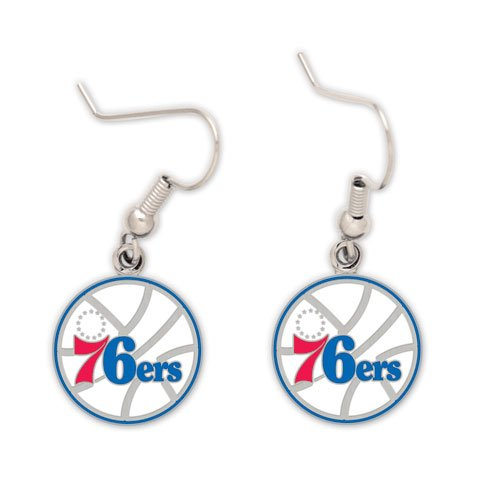 Philadelphia 76ers Official NBA .5'' Earrings by NBA