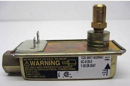 superbobi 30128-35AF Gas Range Oven Safety Valve for Electrolux 3203459  AP2131109 PS446204