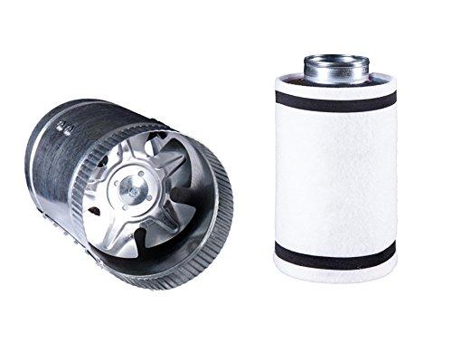 Hydro Crunch 6 inch 240 CFM Booster Fan & 6