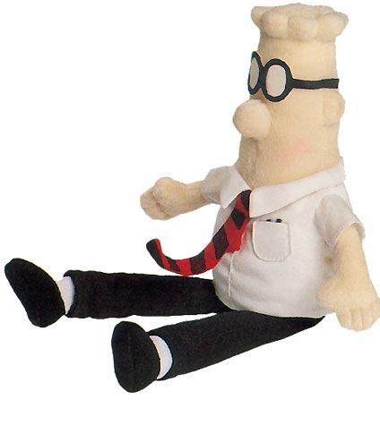Dilbert Halloween Comic (GUND Dilbert Beanbag Toy)