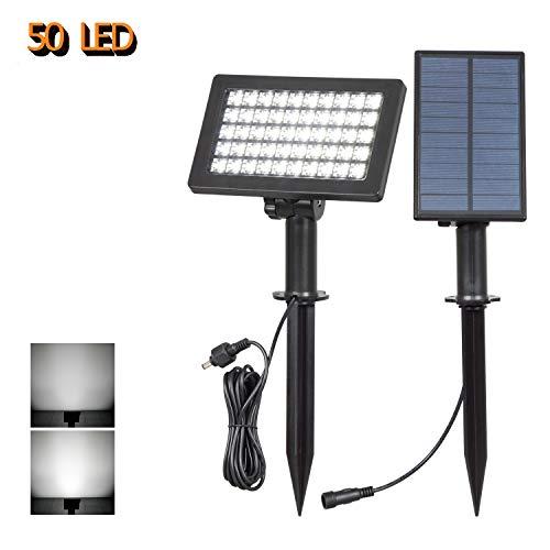 Solar Garden Lights With Separate Solar Panel in US - 1