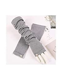 Arm Sleeves UV Protection Arm Sleeve Non-Slip Breathable Sunshade Sleeve Driving Female Long Section Cotton Sunscreen Gloves Useful and Durable
