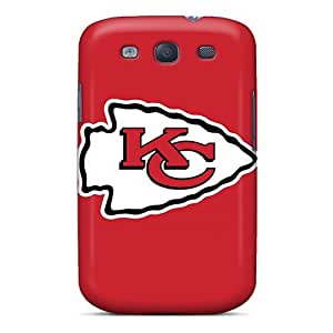 Galaxy S3 Case Bumper Tpu Skin Cover For Kansas City Chiefs Accessories
