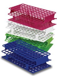 Full-Size Test Tube Racks 30mm 24 Place (Red) (pk of 8)