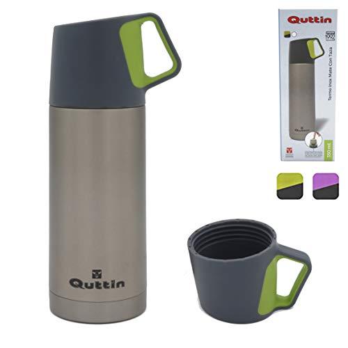 Termo cafe, Termo de cafe de acero inoxidable, para te infusiones agua, Bebidas frias calientes, Termo pequeno, Termo infusiones, Botella para te, Termo grande, Con vaso, taza termo, Botella termica