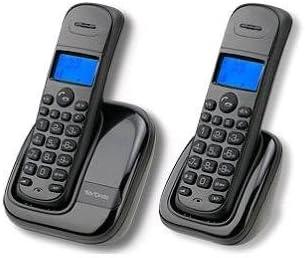 Mx Onda MX-TF1923 DUO - Teléfono Fijo Inalámbrico, compatible con DECT, pantalla LCD retroiluminada: Amazon.es: Electrónica