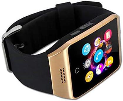 Montre Connectée Compatible avec Samsung Galaxy J3 2016, CEKA TECH® Montres Connectée Bluetooth, Smart Watch, avec Caméra, Écran Incurvé Tactile, ...