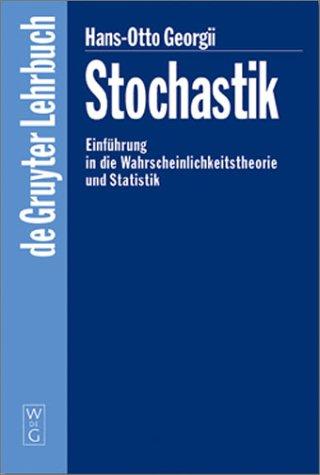 Stochastik. Einführung in die Wahrscheinlichkeitstheorie und Statistik.