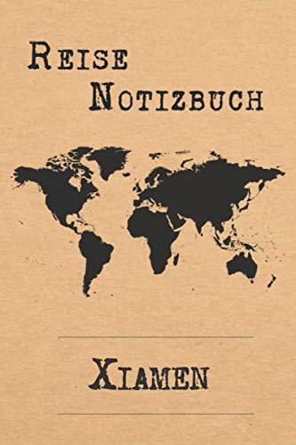 Reise Notizbuch Xiamen: 6x9 Reise Journal I Notizbuch mit Checklisten zum Ausfüllen I Perfektes Geschenk für den Trip nach Xiamen (Volksrepublik China) für jeden Reisenden (German Edition)