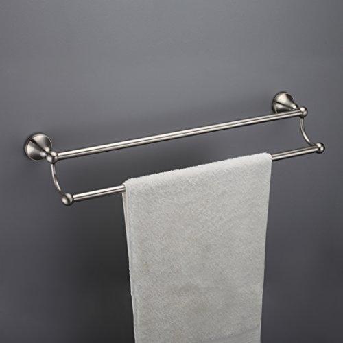 18 inch brushed nickle towel bar - 1