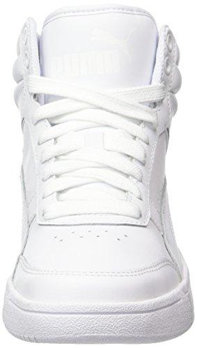 White Rebound 2 Schwarz Hohe Puma White Puma L puma Sneaker Street v2 Unisex Weiß p6wAqx5Zv