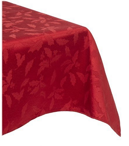 Lenox holly damask red 104
