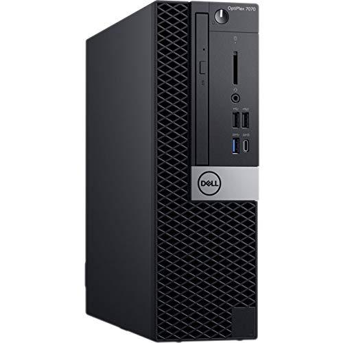 Dell OptiPlex 7070 Desktop Computer – Intel Core i5-9500 – 8GB RAM – 256GB SSD – Small Form Factor