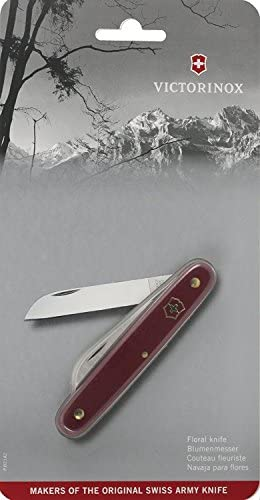 Victorinox 47567 Floral Swiss Army Knife, Red