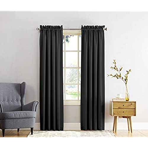Amazon Curtains Bedroom: Black Curtains For Bedroom: Amazon.com